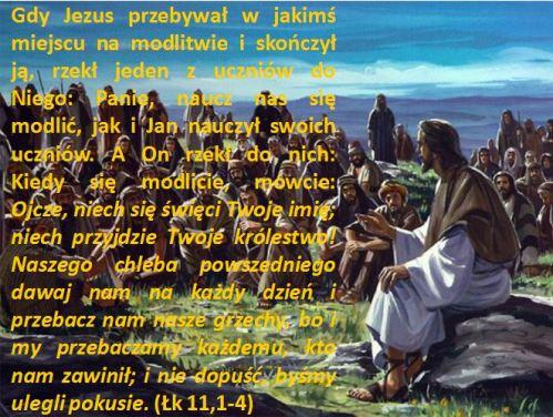 Ewangelia wg św. Łukasza 11,1-4.